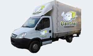 Lieferwagen Iveco mit Hebehühne mieten