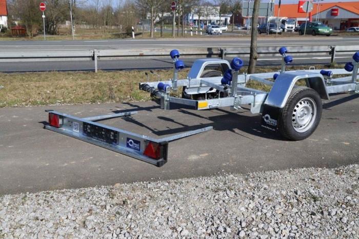 P750H Bootstrailer 750 kg für Boote bis 5 m voll