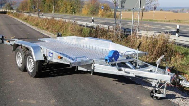 Monza 100+ Fahrzeugtransporter voll