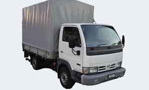 nissan cabstar lieferwagen mit hebebühne mieten