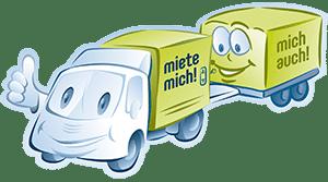 lieferwagen mit anhaenger mieten